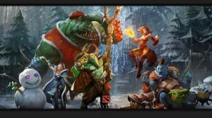 Герои Crystal Maiden, Tidehunter, Furion и Ogre Magi в Дота 2