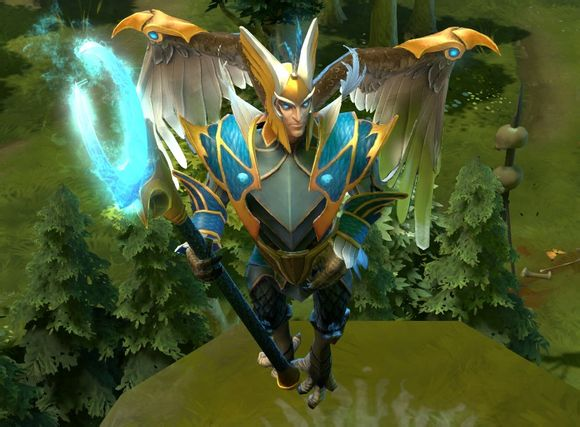 В бета-версии Дота 2 появляется Skywrath Mage