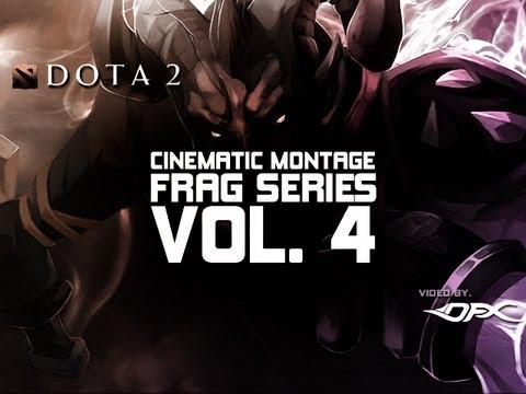 Видео DotaFX - Дота 2 Cinematic Montage серии фрагов Часть 4