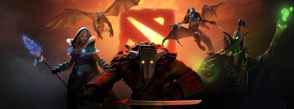 Crystal Maiden, Dragon Knight, Juggernaut, Queen of Pain и Rubick в Дота 2