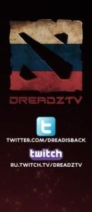 Стрим DreadzTV в Дота 2