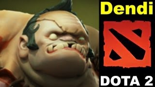 Видео Дота 2 International 3 Dendi - Pudge