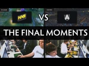 Видео Дота 2: TI3 S4 Миллион долларов, Dream Coil, Реакция толпы