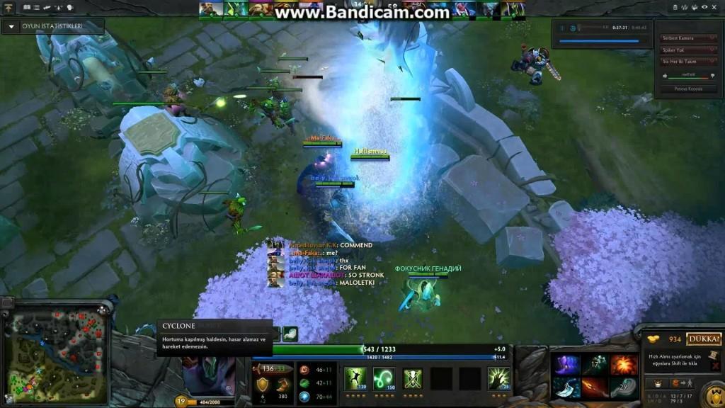 Видео Дота 2: Antediluvian K.K (1080p)