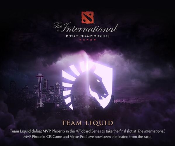 Team Liquid Dota 2 TI4 прошли в финальную часть